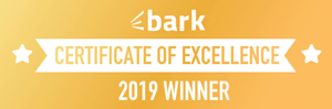 Bark Certificate of Excellence 2019 logo