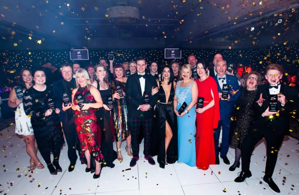 VOWS AWARDS all the winners from 2019